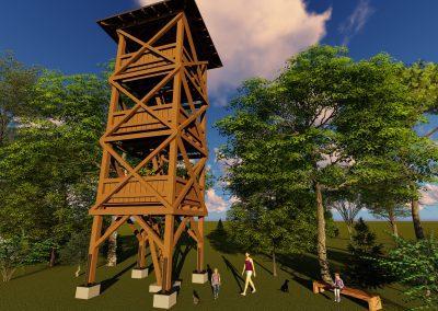 Vyhliadková veža Stropkov